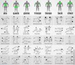 Упражнения в тренажерном зале на все группы мышц – Тренировка на все группы мышц в тренажерном зале