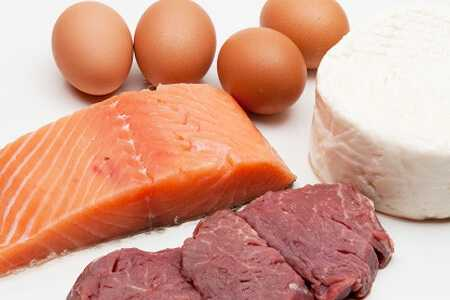 Продукты питания для наращивания мышечной массы