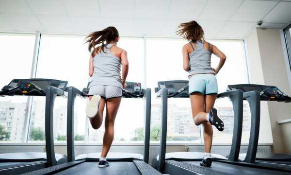 кардио тренировка в зале для похудения