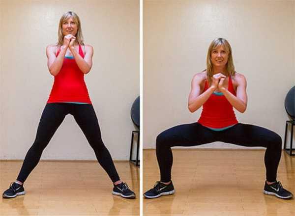 упражнения для похудения боков и ляшек